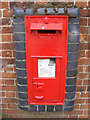 TG0524 : Themelthorpe Road  Victorian Postbox by Adrian Cable