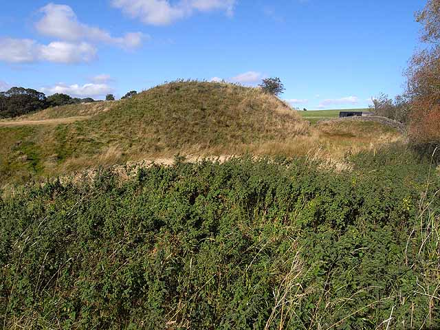Motte and Bailey Castle at Elsdon