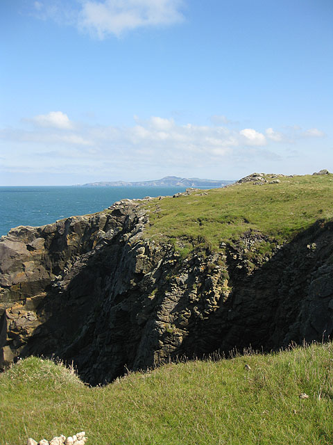 View to Strumble Head and Garn Fawr