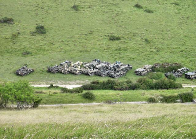 Military Vehicles, Lulworth Range