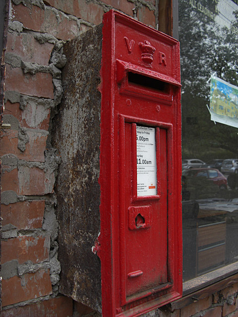 Victorian post box, Ogden