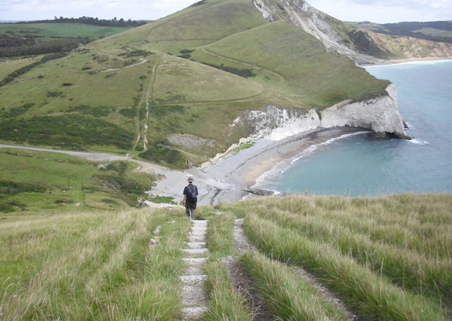 South West Coast Path above Arish Mell