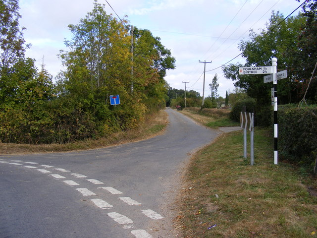 Road to Old Hall Farm