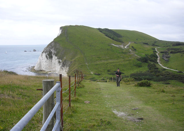 South West Coast Path, East of Arish Mell