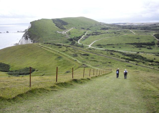 South West Coast Path  near Halcombe Vale