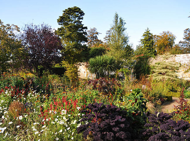 Walled Garden at Cambo