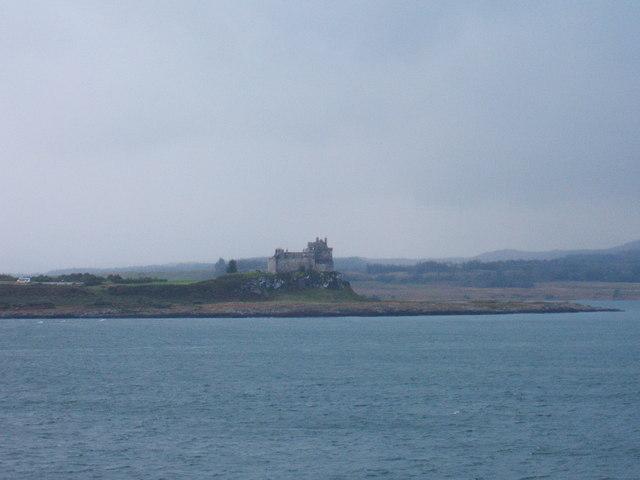 Duart Castle, from the Lochboisdale ferry