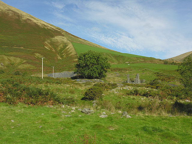 Old mine workings beneath Bryn Hafod