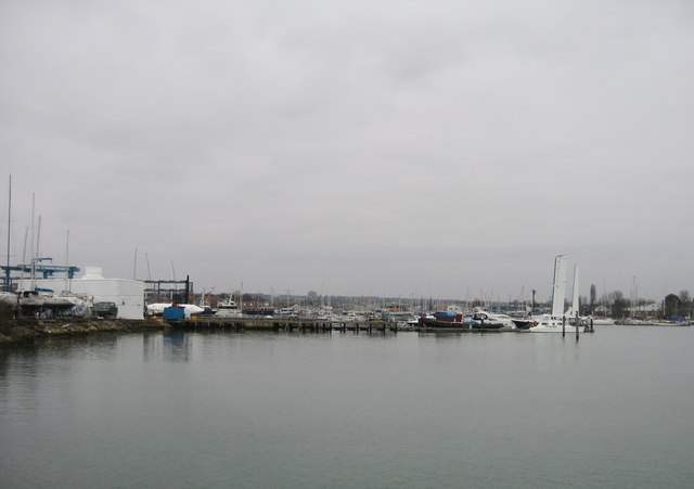Southampton - Itchen - another grey day