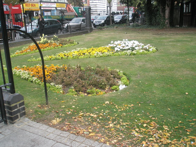 Flowerbeds within Manor House Grounds