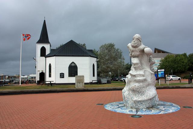 Norwegian Church and Sculpture