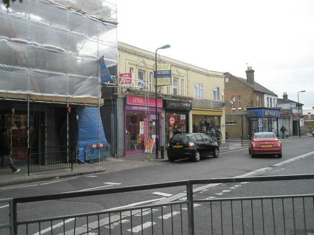 Shops in Featherstone Road