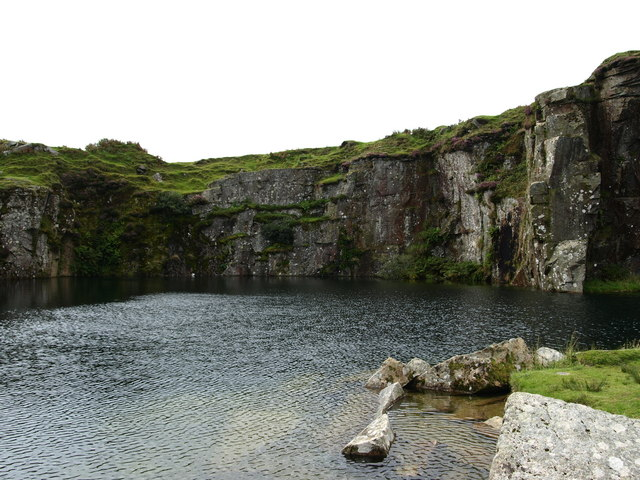 Water filled Quarry