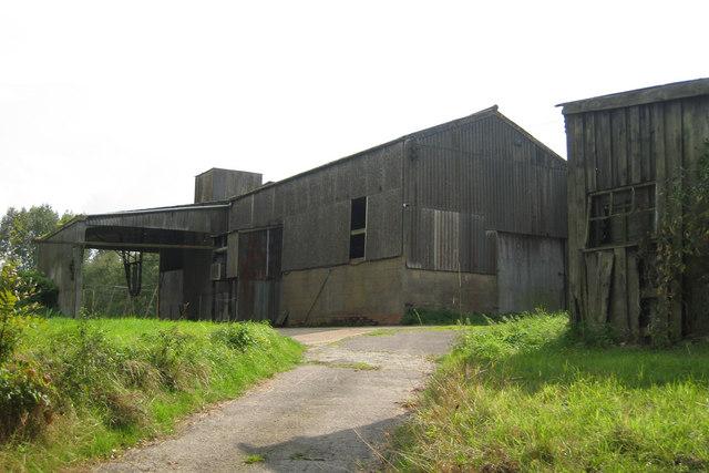 Hop Processing Building at Remingtons Farm