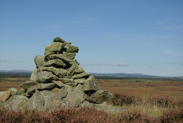 Cairn on Craiglarie Fell