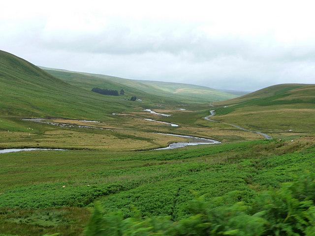River Elan meanders