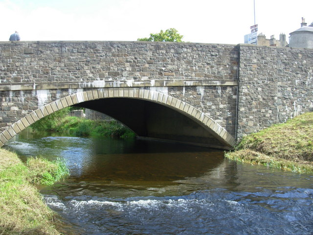 Peebles - Bridge over Eddleston Water