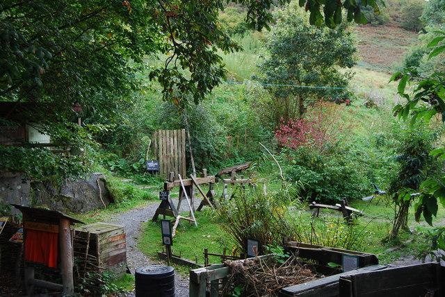 Woodworking area, CAT