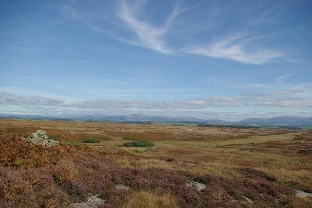 A view towards Craigeach Moor