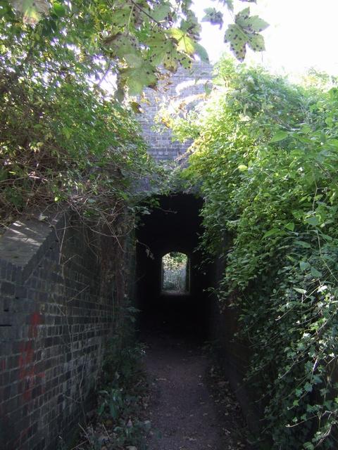 Culvert under the WCML railway