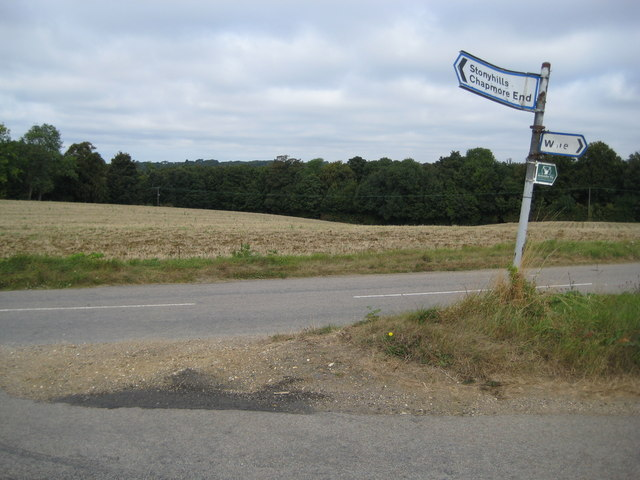 Stonyhills: A distressed road sign