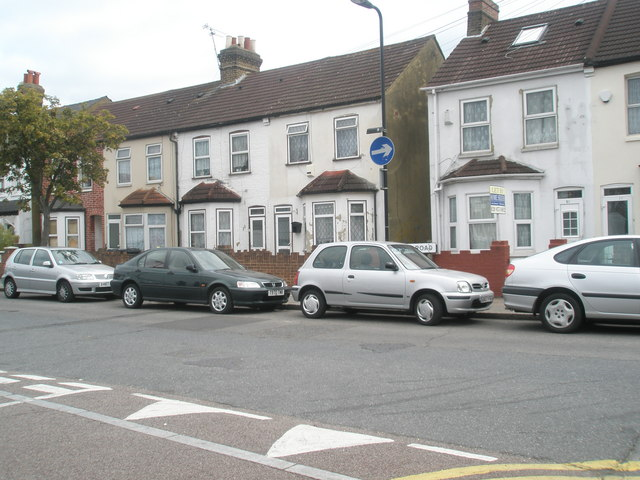 Looking from Clarence Street into Sussex Road
