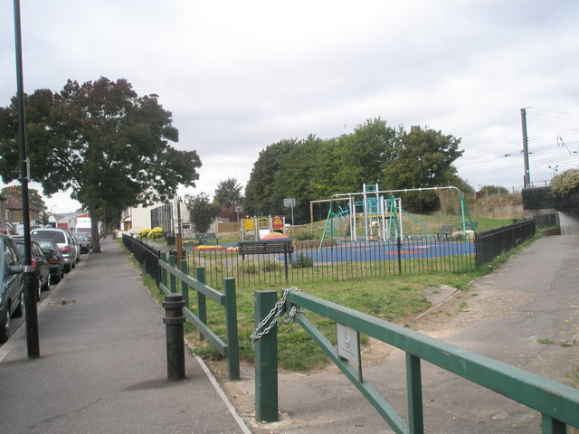 Playpark in Spencer Street