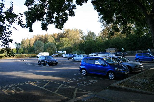 Car park in Burford