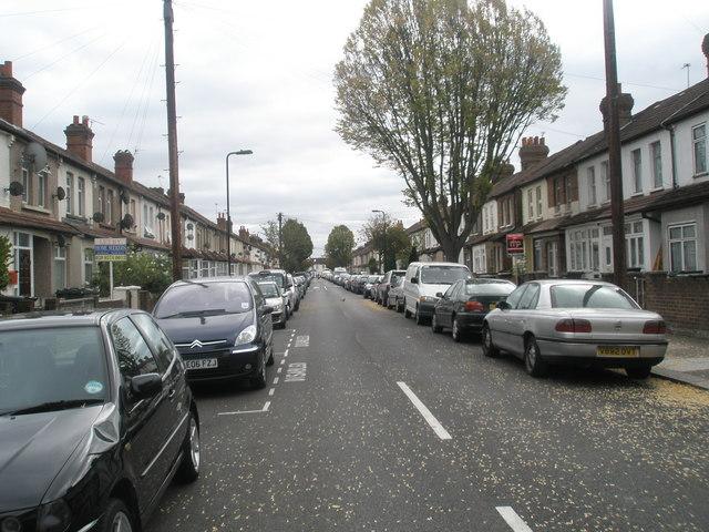 Looking eastwards along Clarence Street
