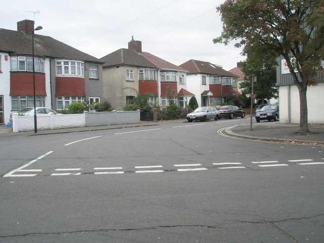 Looking from Balfour Road into Johnson Street