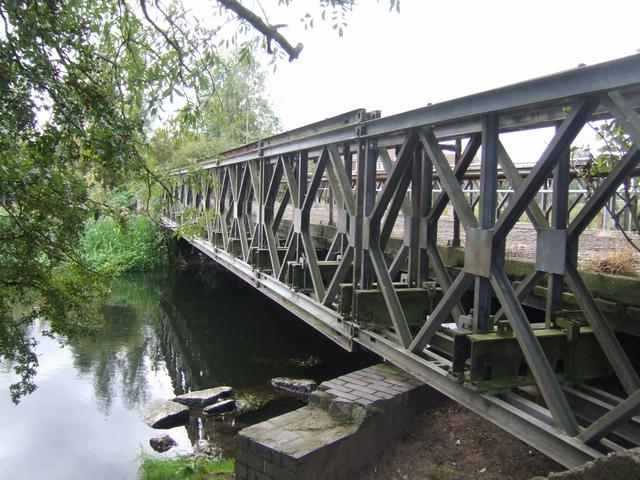 Bailey Bridge over the River Trent