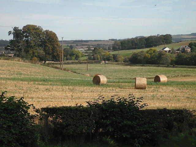 Round bales, Bonjedward