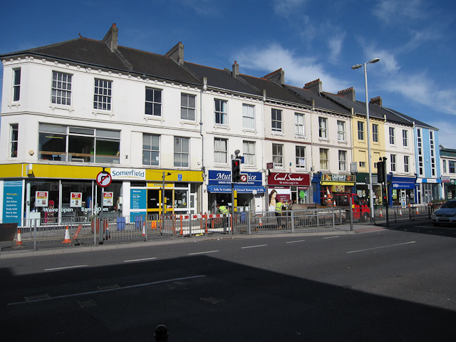Shops on Mutley Plain