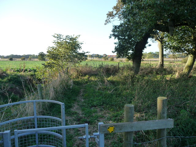 Footpath to Gristhorpe