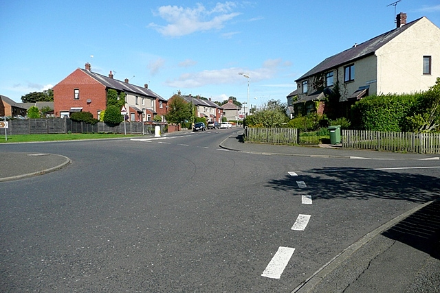 Roundabout on Willowburn Avenue