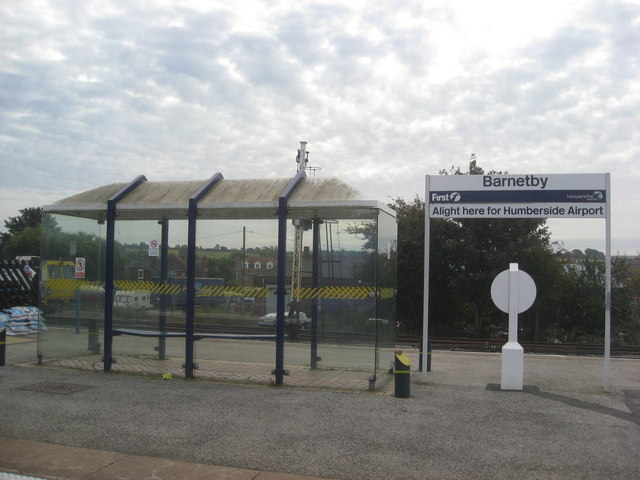 Barnetby Station - For Humberside Airport