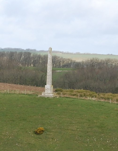 Obelisk on the hilltop