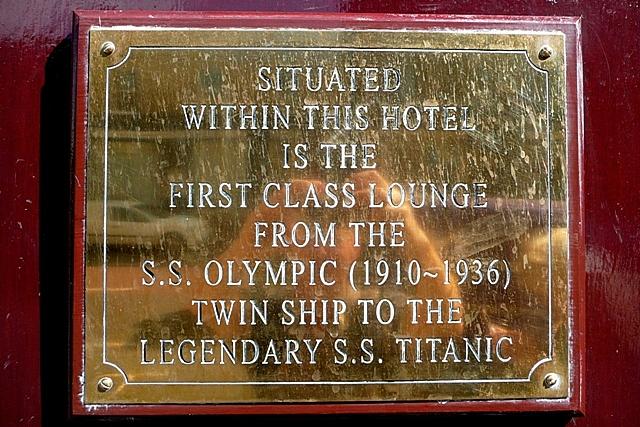 Olympic plaque
