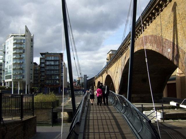 Walkway at Limehouse Basin