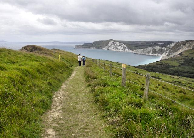South West Coast Path, Gad Cliff