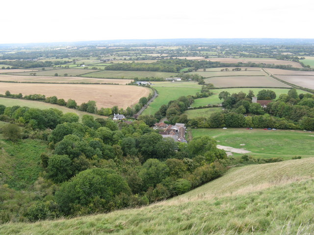 Downland view over Edburton and beyond