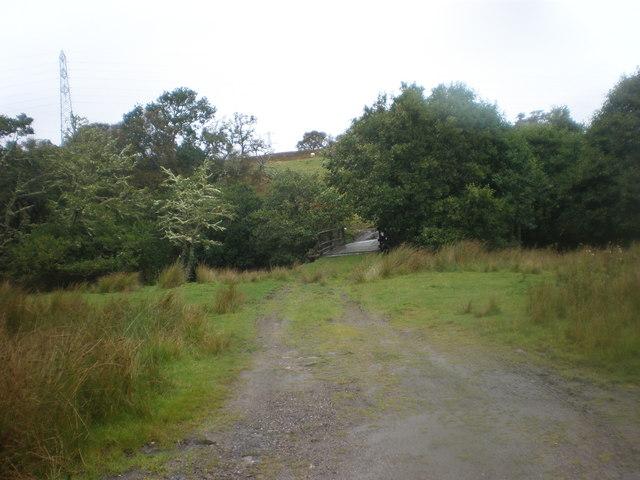 Bridge across Abhainn an t-Sratha Charnaig