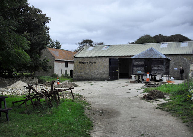 Tyneham Farm - the History Barn
