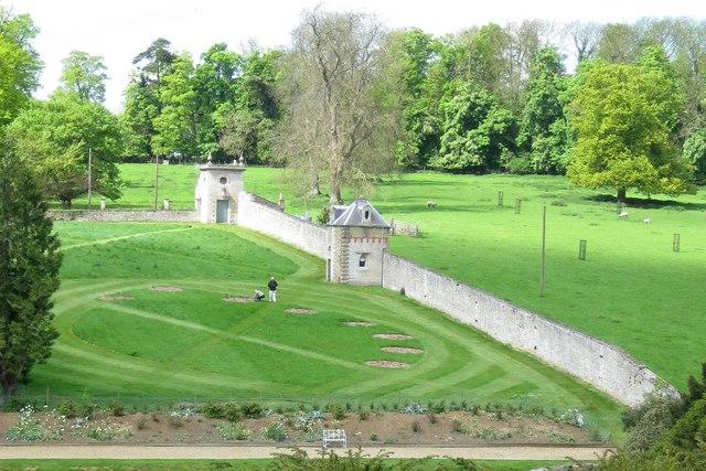 Gardens under renovation