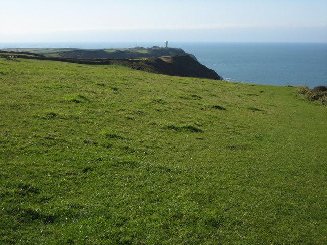 Above Gawlish Cliff