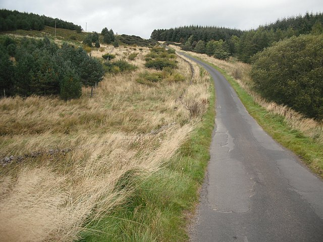 Minor road, Hareshaw Knowe