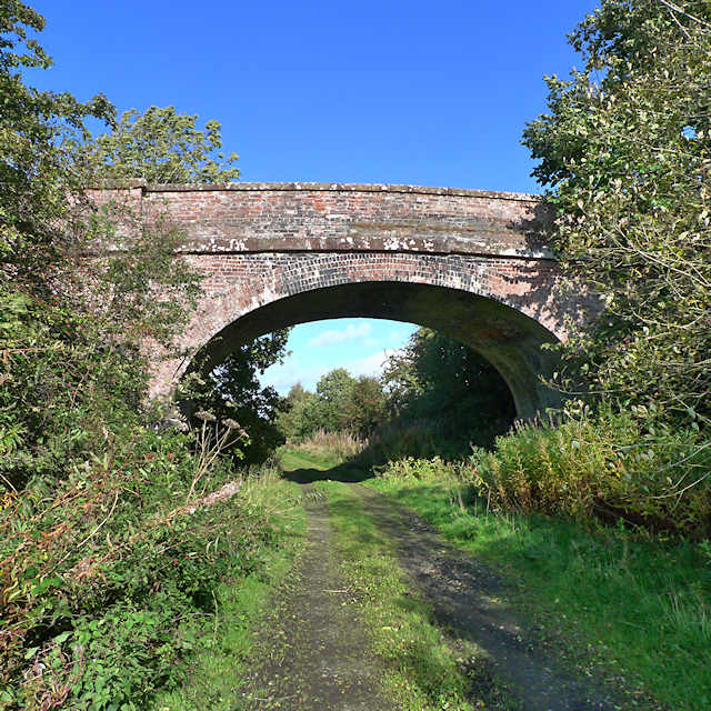 Bridge over dismantled railway