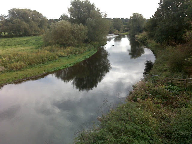 The River Derwent from the A38