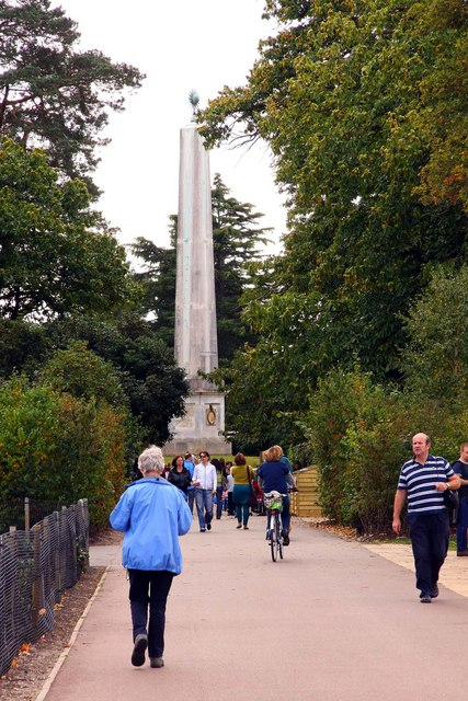 The Obelisk near Savill Gardens