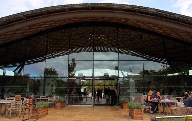 The Savill Building at Savill Gardens